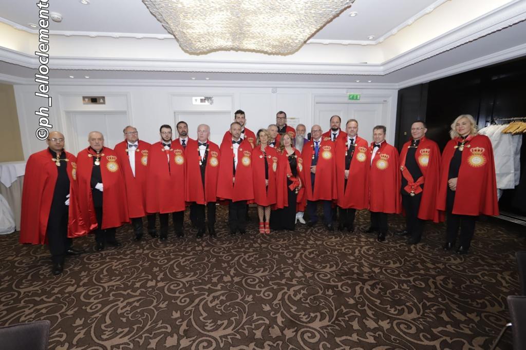 Cerimonia di investitura al Sovrano Ordine Militare dei Cavalieri Ksatriya